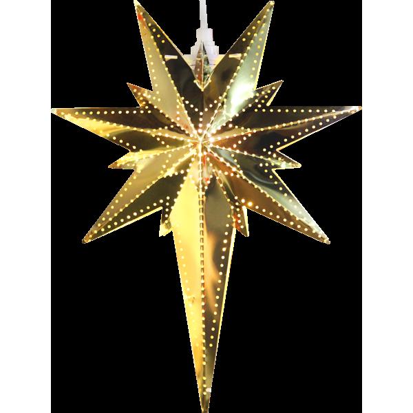 Bilde av Betlehem stjerne, messing