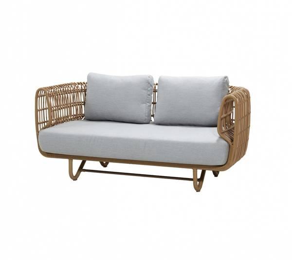 Bilde av Cane-line Nest 2-seter sofa