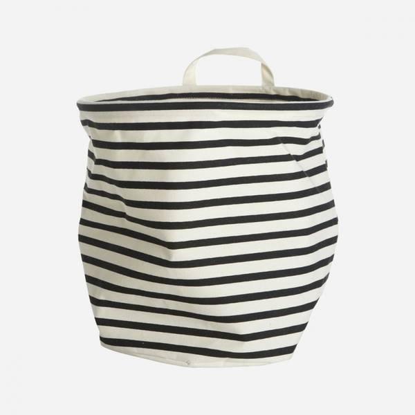Bilde av Storage stripes, black/white 30 cm