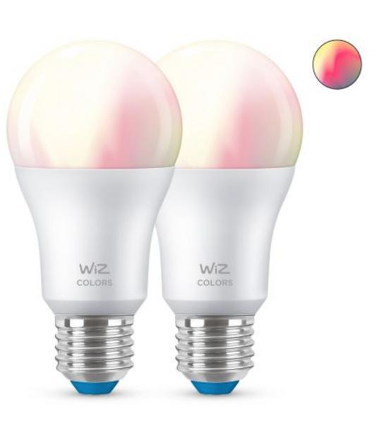 Bilde av Wiz Wi-Fi BLE Color/8.5W A60 E27 6/2PF