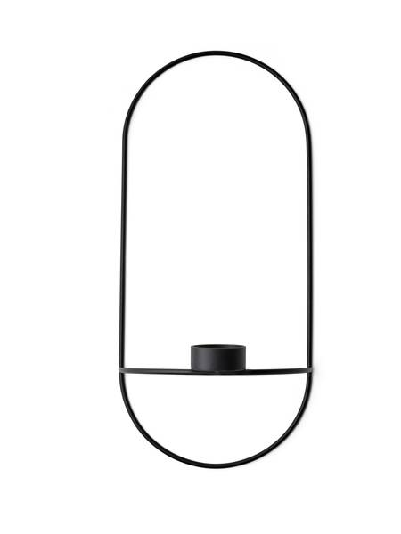 Bilde av Menu POV oval tealight candleholder, black