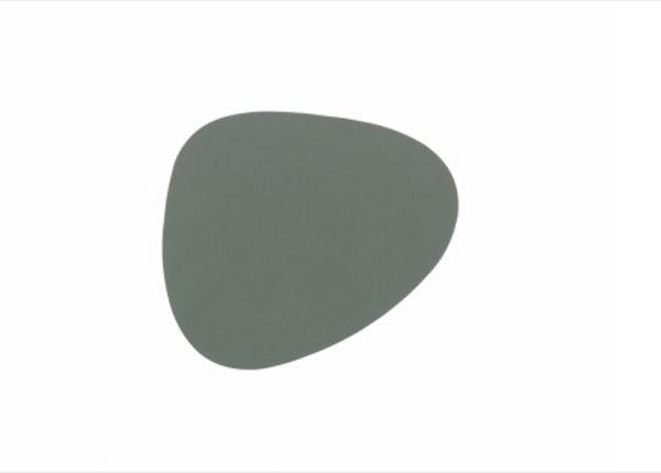 Bilde av glass mat curve 11x13cm nupo pastel green