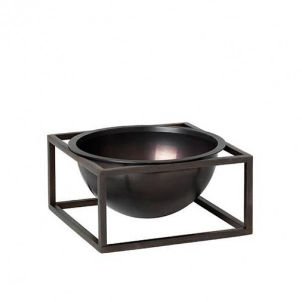 Bilde av By lassen Kubus Bowl centerpiece small, svart