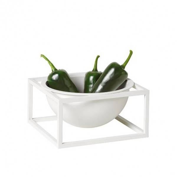 Bilde av By lassen Kubus Bowl Centerpiece small, hvit