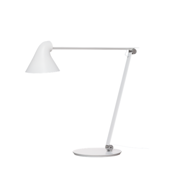 Bilde av Louis Poulsen NJP bordlampe hvit